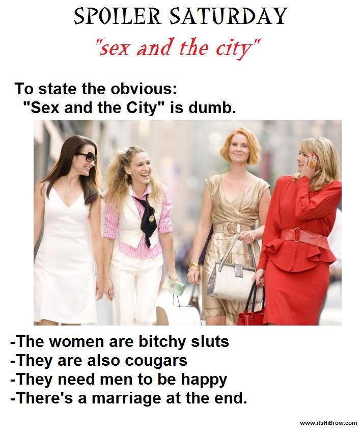 Sex and city spoiler
